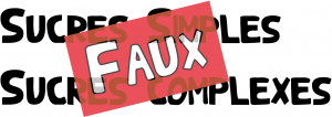 glucide simple complexe
