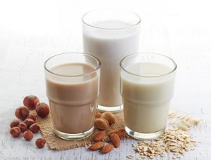 Différents laits végétaux